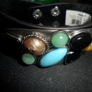 nwot leather bracelet